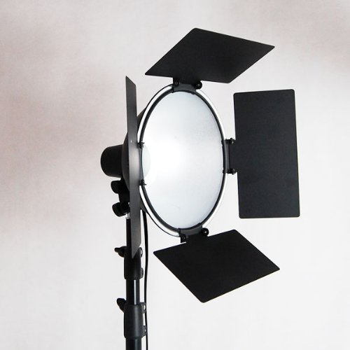 LimoStudio Photo Studio Barndoor Light 400W Continuous Lighting Kit, AGG949 new 324w photo studio lighting softbox video 5500k led bulb light kit 9bulbs