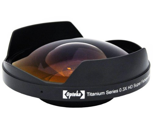 Opteka Titanium Series 58mm 0.3X HD Super Fisheye Lens