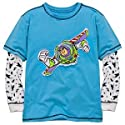 Disney Double-Up Thermal Long Sleeve Buzz Lightyear Tee