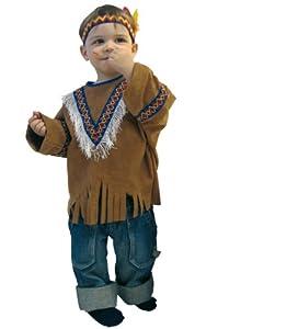 Indianerkost�m 118.013.92 Kleine Feder Gr. 86-92 Kinderkost�m