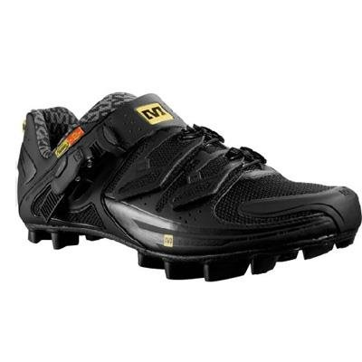 Mavic 2011 Fury Mens Mountain Bike Shoe - Black - 300134