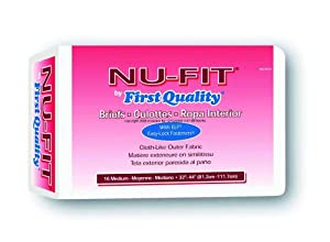 Nu-Fit® Briefs by First Quality from First Quality Products