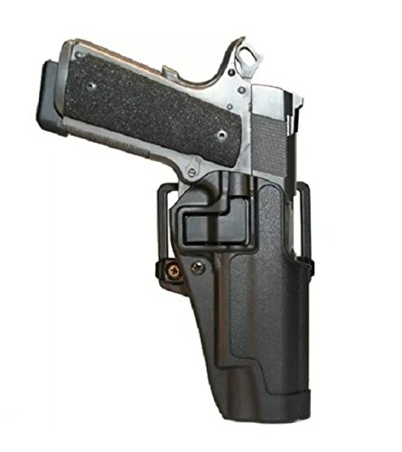 Outlandish 1911 Pistol Holster RH Holsters for Most 1911 Pistols such as Governent models M1911 1911A1 1911A2 45ACP 22 gun outlandish tactical