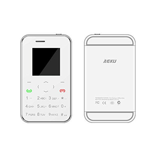 yccteam original aeku i6 1 54 inch mini credit card size cell phones ultra