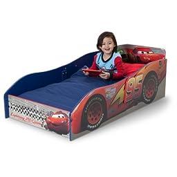 Delta Disney Cars Children Bedroom Kids Wooden Toddler Bed