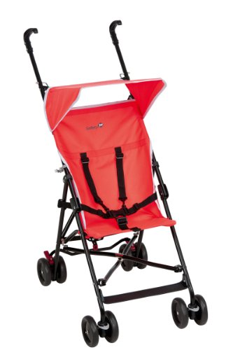 Safety 1st - Passeggino Peps con capottina, Red Neon