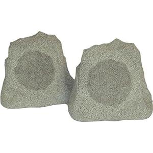 AudioSource RK5G Weather/Ultra Violet Resistant Rock Speakers (Pair, Granite)