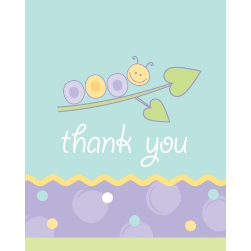 Love Bug Thank You - 8/Pkg. - 1