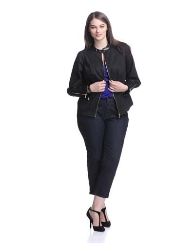 Calvin Klein Women's Zip Front Jacket