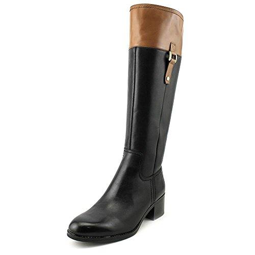 franco-sarto-lizbeth-damen-us-5-schwarz-mode-knie-hoch-stiefel