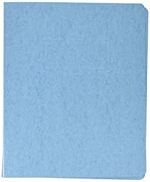 Smead PressGuard® Report Cover, Punchless Style Fasteners, 125 Sheets, Letter Size, Blue, 10 per Box (83052)