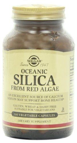 Solgar, Oceanic Silica, 100 Vegetable Capsules