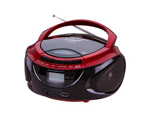 Sunstech CRUSM-390 Radio/Radio-réveil Lecteur CD MP3 Port USB