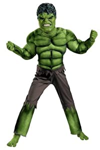Costumes For All Occasions DG43660L Hulk Avengers Classic Muscle 4