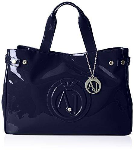 Armani Jeans922591CC855 - Borsa shopper Donna , Blu (Blau (BLU 00335)), 26x14x40 cm (B x H x T)