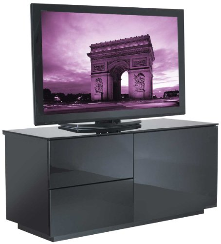 UK-CF High Gloss Black TV Cabinet for up to 50 inch Black Friday & Cyber Monday 2014