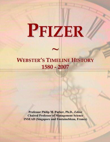 pfizer-websters-timeline-history-1580-2007