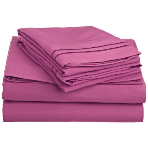 Pink Queen Size Sheets front-410303