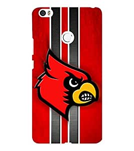 EPICCASE fiery angry bird Mobile Back Case Cover For Xiaomi Mi Max (Designer Case)