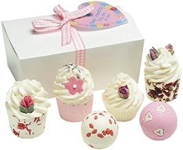 BOMB COSMETICS Little Box of Love Ballotin, Coffret Cadeau pour le Bain  (6 produits)