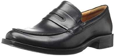 ECCO Men's Canberra Slip On Loafer,Black,40 EU/6-6.5 M US