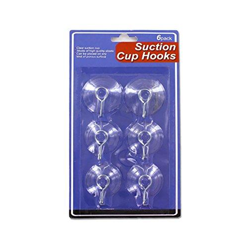 Bulk Buys Suction Hooks Set Pack Of 24