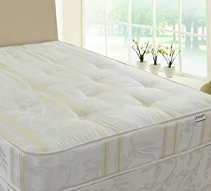 Joseph Luxury Tufted Mattress, 4ft 6in Double       Customer review and more information