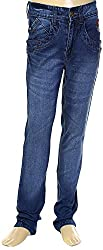 HAVOC Boys' 35061 Slim Fit Jeans (Blue, Size 32 - 7 to 8 Years)