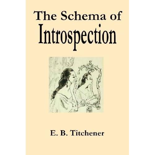 Image: The Schema of Introspection: E. B. Titchener