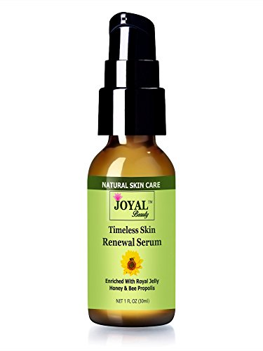 #1 Best Selling Royal Jelly Serum For Face- Timeless Skin Renewal Serum By Joyal Beauty. Enriched With Organic Bee Propolis, Royal Jelly, Honey And Centella Asiatica Herb. Best Bee Treatment+ Best Collagen Boosting Serum.Paraben Free,Alcohol Free, Cruelty front-58264
