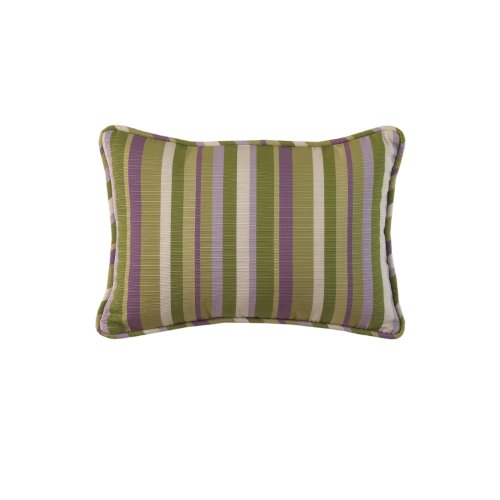 Waverly Sweet Violets Accent Pillow, 14 By 20-Inch front-1064749