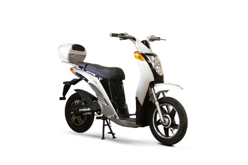EWheels - Electric Moped - EW-500 - Silver