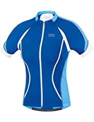 GORE BIKE WEAR Women's Full Zip Short Sleeve Road Cycling Oxygen FZ Lady Jersey, SOXYGL