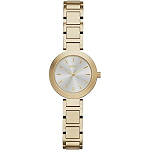 DKNY NY2253 Gold Bracelet Silver Dial Ladies Watch