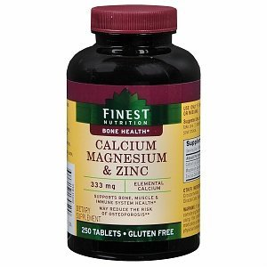 amazon   finest nutrition calcium 33 mg magnesium