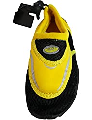 Boy S Aqua Water Shoes Socks Yellow/Black 2 M US Little Kid