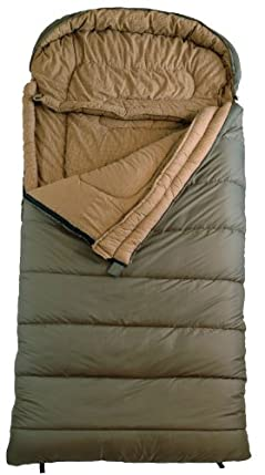 "Teton Sports Celsius Regular18 Degree C / 0 Degree F Flannel Lined Sleeping Bag 80""x 33"""