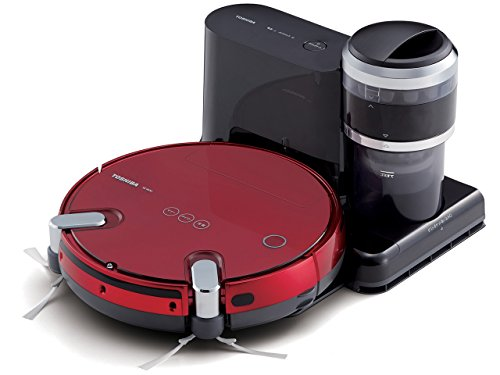 TOSHIBA robot cleaner TORNEO ROBO VC-RVS2-R (Grand Red) (Toshiba Vacuum Cleaner compare prices)