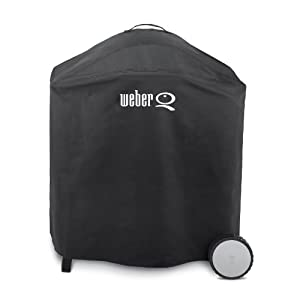 weber 6553 premium cover for weber q 300. Black Bedroom Furniture Sets. Home Design Ideas