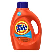 Tide Clean Breeze Scent Liquid Laundry Detergent 100 Ounce (pack of 4)