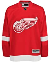 NHL Reebok Detroit Red Wings Stitched Premier Team Jersey Red