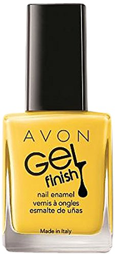 Avon discount duty free Avon Nail Enamel High Gloss Gel-Like Polish, Limoncello Number P817 10 ml