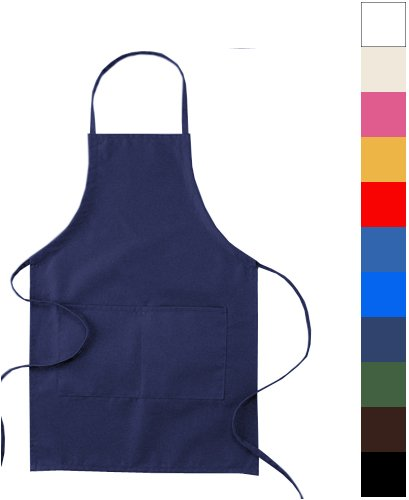 Big X - Big X 2-Pocket 30 Inch Adjustable Tie Apron, Black