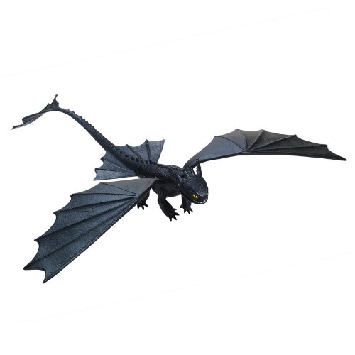 Dreamworks Dragons Defenders Of Berk - Action Dragon Figure - Missile Shooting Toothless Night Fury front-303801