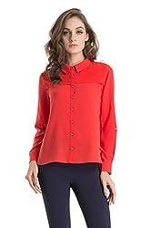Kazo Women's Button Down Shirt (109122FLMSTL)