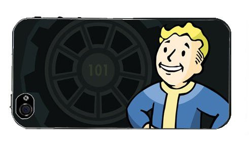 ImCase Fallout Vault Boy Cases Covers for iPhone 4 4S