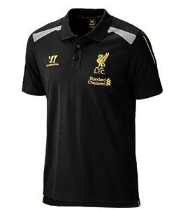 Liverpool FC 2013/14 Training Football Polo Shirt Black - size XL by Warrior