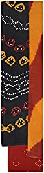 Monalisa Selection Women's Cotton Unstitched dress material (UP1069-MS, Black)