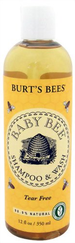 Burt's Bees Baby Bee Shampoo & Wash, 12-Ounce Bottles (Pack of 2)