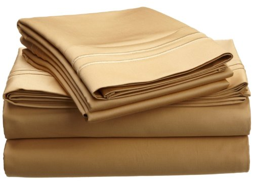1600 thread count egyptian cotton king gold oversized for Highest thread count egyptian cotton sheets